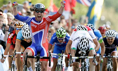 Mark Cavendish, UCI World Champion 2011.