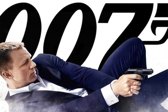 Skyfall med Daniel Craig som James Bond